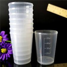 10 Stück/Set Kunststoff Messbecher Meßkanne Meßbecher 50ml Für Labor Küche