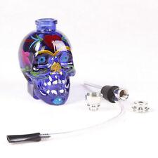Portable Hookah Water Tobacco Smoking Pipe Bong Skull Shape Hookah Bubbler Pipe