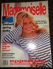 Mademoiselle 1/1990 Woody Harrelson Claudia Schiffer Michaela Bercu Emma Balfour