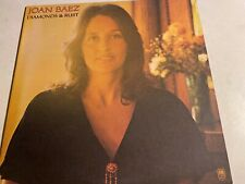 "Joan Baez-Diamonds & Rust 12"" LP A & M 1975  Near Mint"