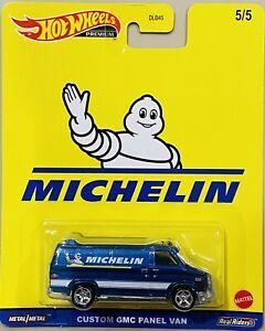 Hot Wheels SPEED SHOP GARAGE MICHELIN CUSTOM GMC PANEL VAN 2021 new release