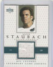 Roger Staubach 2000 Upper Deck UD NFL Legend Legendary Game Jersey Patch COWBOYS