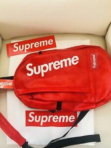SUPREME CROSS BODY BAG  (LIMITED) SUPREME CUSTOM MADE BRAND NEW!