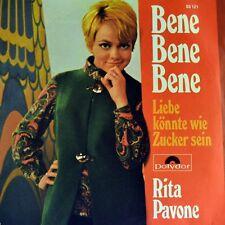 """7"""" RITA PAVONE Bene Bene../ Liebe könnte wie Zucker sein POLYDOR 1969 NEUWERTIG!"""