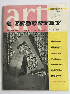 Art & Industry, (Pub; The Studio Ltd, London); Vol 61, No 366, December 1956