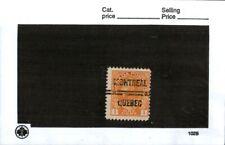 Middlesex Canada, Canada stamp #105 precancels , Montreal Quebec.  cc15