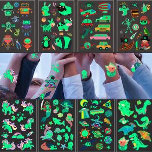 Temporary Tattoos Sticker Fake Tatoo Body Art Toy Sheet  for Kids Children