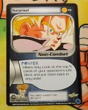 Dragon Ball Z Score CCG Surprise! P9 Trunks Saga PROMO DBZ TCG