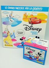 DISNEY MAGICI AMICI FAVOURITE FRIENDS ALBUM + BOX 50 Bustine figurine PANINI