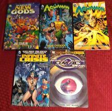 Dc Comics Lot:Death of th New Gods Aquaman Sub Diego Infinite Crisis Omac Batman