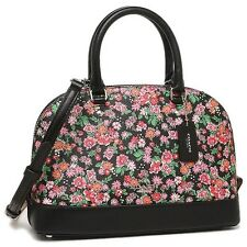 NWT Coach Posey Cluster Floral Mini Sierra Satchel Dome F57621 Pink Black Multi