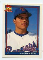 1991 Topps Traded IVAN RODRIGUEZ Rookie Card RC #101T Texas Rangers HOF 101