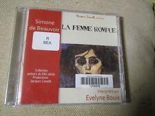 """LIVRE AUDIO PROMO """"LA FEMME ROMPUE de Simone De Beauvoir"""" lu par Evelyne BOUIX"""