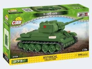 COBI 2702 - HISTORICAL COLLECTION - World War 2, WWII - Panzer T-34-85