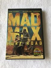 Mad Max Fury Road (2015 DVD, Widescreen) New Sealed!! Tom Hardy Charlize Theron