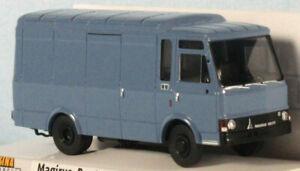 BREKINA Magirus-Deutz 90 D 6 Zeta (Blue) 1/87 HO Scale Plastic Model NEW, RARE!