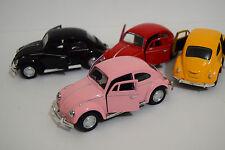 VW BEETLE 60'S STYLE 1/32 DIECAST CAR - MUSIC SOUND LIGHT OPENING DOOR HERBIE