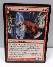 carte magic the gathering mtg - sanglier lamecroc - magic 2013
