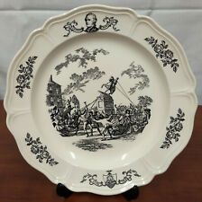 Wedgwood Defying The King 200th Anniversary Historical 11th State New York Plate