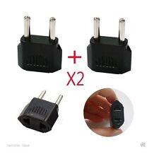 X2 220V Plug /Travel Adapter/ USA Canada to EU (110V to 220V) / Korea Converter