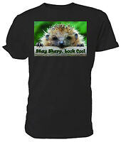1Tee Kids Boys Looking Sharp Hedgehog T-Shirt