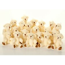 NEW - 125 X White Teddy Bears - Small Cute Cuddly Adorable - Gift Present