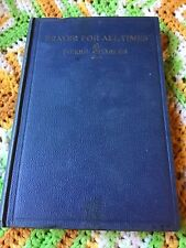 Rare vintage Prayer For All Times Pierre Charles Catholic HC book
