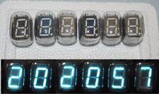 IV-22 IV22 (ИВ-22) RUSSIAN VFD 7-SEGMENT NIXIE TUBES CLOCK. Lot of 6 pcs