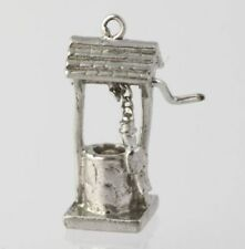 Water Well Charm - Sterling Silver Pendant 3D Moves