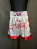 Vintage FBT Thai Boxing Shorts Kickboxing Size XL