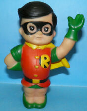 1978 DC Comics Super Junior Robin Rubber Vinyl Squeeze Toy Batman Figure