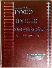 NEW Pomo Indian Basketry, S.A. Barrett (1976 Hardcover, Reprint) FREE SHIPPING