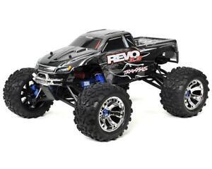Traxxas Revo 3.3 4WD RTR Nitro Monster Truck w/TQi (Silver) [TRA53097-3-SLVR]