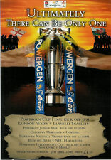 LONDON WASPS v LLANELLI SCARLETS 2006 POWERGEN CUP FINAL RUGBY PROGRAMME