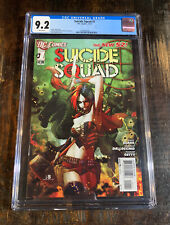 Suicide Squad #1 CGC 9.2⭐️The New 52⭐️Harley Quinn⭐️