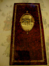 ROYAL DUBLIN HOTEL IRELAND. SALES BROCHURE Dépliant