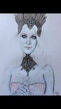 Your Own Photos Turned Into! Fantasy Portrait Signed Original pastel Drawing A3