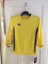 BNWT CANTERBURY Yellow Cycling Top Size JL