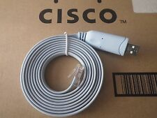 USB to Serial Console Cable Kit Cisco 72-3383-01 Router Switch CCNA CCNP CCIE