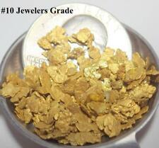 GOLD NUGGETS 6+ GRAMS Natural Placer Alaska Natural #10 Deadwood Creek Jewelers