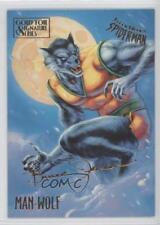 1995 Fleer Ultra Spider-Man Gold Foil Signature Series #36 Man-Wolf Card 2d6