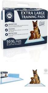 Extra Large Pets Training Pads XL Pet Puppy Dog 50 Absorb Pad Potty No Leak Pee