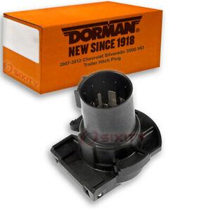 Dorman Trailer Hitch Plug for 2007-2012 Chevrolet Silverado 3500 HD kn