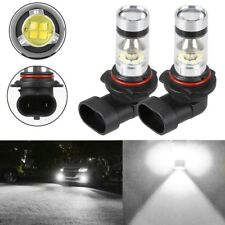 2x H10 9145 9140 6000K White 100W High Power LED CREE Fog Light Driving Bulb