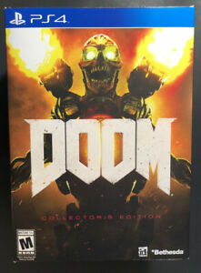 Doom [ Collector's Edition ] (PS4) NEW