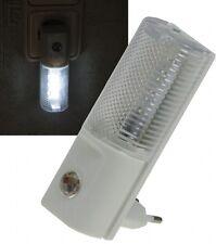 LED Nachtlicht 230 V Tag / Nacht Dämmerungs-Sensor 1 W Weiß 12057