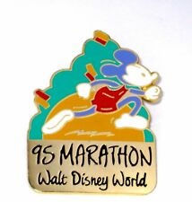 Retired Disney Pin✿Mickey Mouse Marathon Runner Sport Athlete Classic 95 Vintage