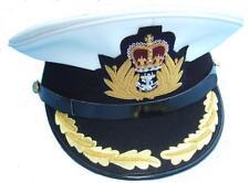 More details for cap navy cap navel cap 1 row oak leaf peak  with badge r602