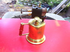 RARE ANTIQUE / VINTAGE TURNER NO. 92A DOUBLE-JET BLOWTORCH / BLOW TORCH :