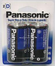 24 Panasonic Batteries SIZE D Super Heavy Duty Long expiry date (12 packs of  2)